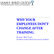 Why Employees Don't Change After Training